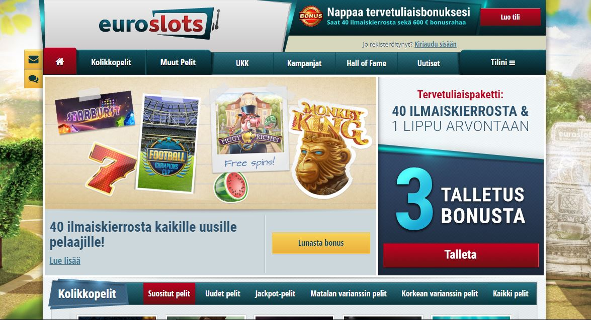 euroslots screencapture