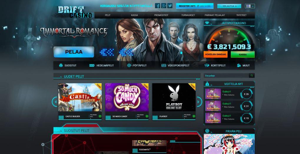 Drift Casinon etusivu